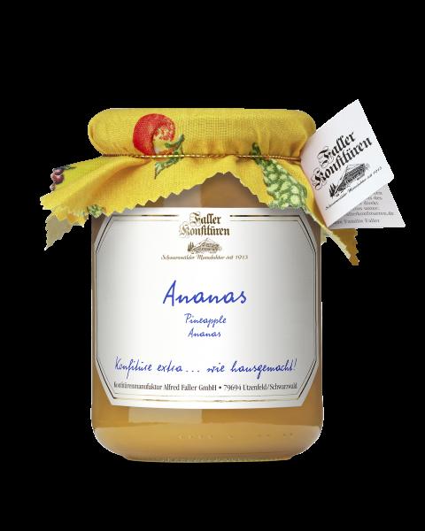 Ananas Konfitüre mit Tuch 450g_1