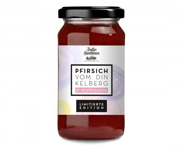 Pfirsich-Preiselbeer Konfitüre 235g_1