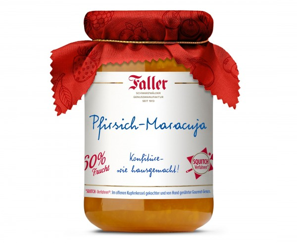 Pfirsich-Maracuja Konfitüre hg 330g - 60% Frucht_1