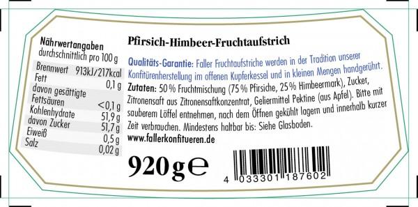 Pfirsich-Melba Fruchtaufstrich 920g_2