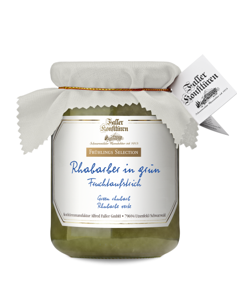 Grüner Rhabarber Fruchtaufstrich 420g_1