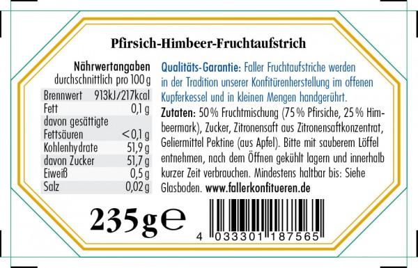 Pfirsich-Melba Fruchtaufstrich 235g_2