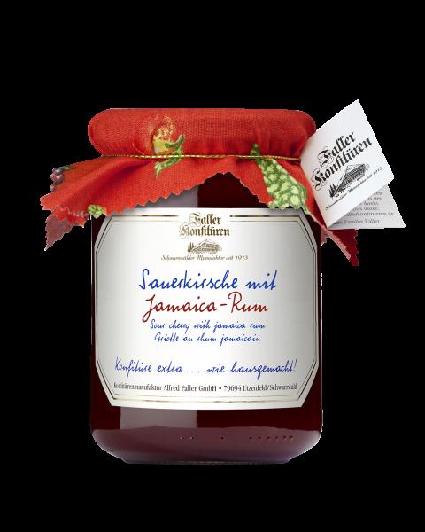 Sauerkirsch Konf. mit RUM 450g_1