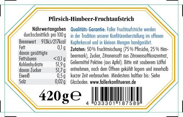 Pfirsich-Melba Fruchtaufstrich 420g_2