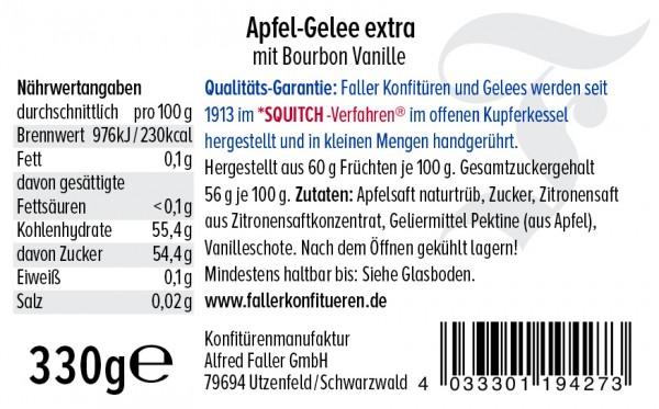 Apfel Gelee mit Vanille hg 330g_2