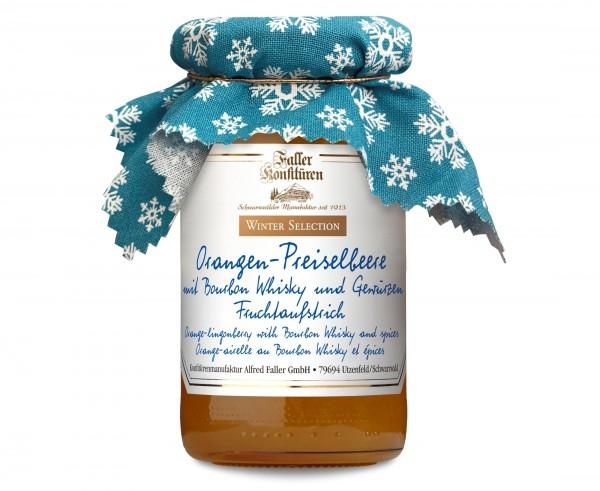 Orangen-Preiselb. FA mit Bourbon Whisky und Gewürzen 235g_1