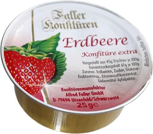 Erdbeer Konfitüre extra 25g_1