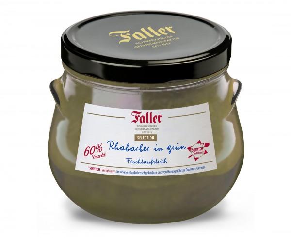Grüner Rhabarber Fruchtaufstrich 920g/60%Frucht_1
