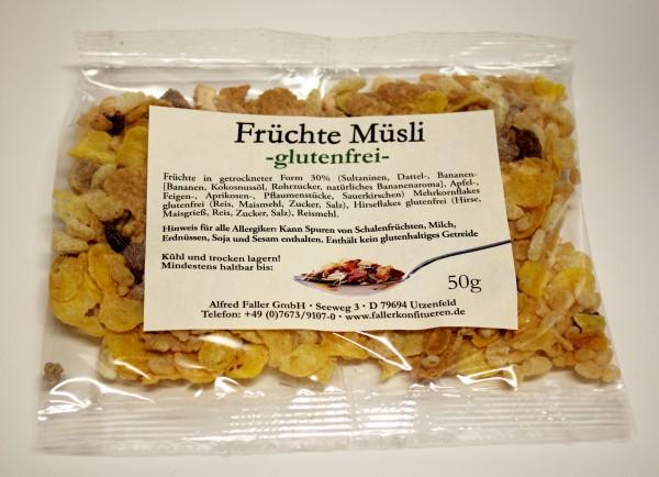 Früchte Müsli -glutenfrei- 50g_1
